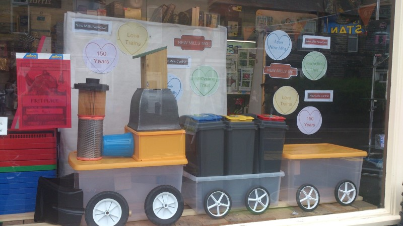 Our Ryans Mica DIY Centre award winning window display!